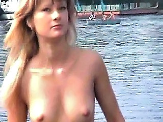 Blonde Nudist Outdoor Russian Small Tits Outdoor