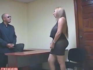 Blonde Interracial   Latina Milf