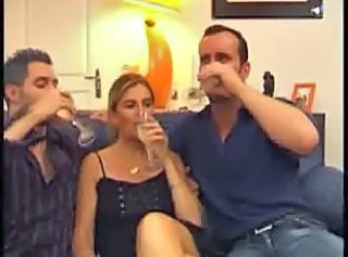 Drunk Groupsex Threesome Wife Wife Ass