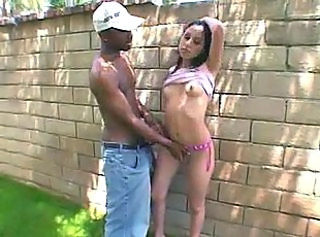 Interracial Latina Outdoor Skinny Outdoor Interracial Big Cock Latina Big Cock Latina Pussy
