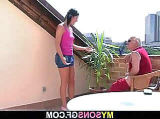 Brunette Cute Old and Young Outdoor Small Tits Young Cute Brunette Old And Young Outdoor
