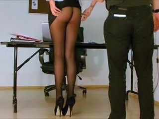 Ass Legs Pantyhose Secretary Pantyhose