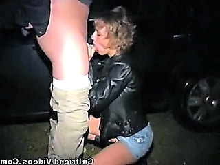 Amazing Blowjob Cash Car Clothed Outdoor Car Blowjob Hooker Outdoor