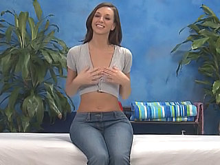 Babe Cute Jeans Massage