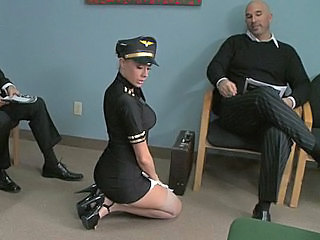 Babe Big Tits Pornstar Stockings Uniform Stockings Stewardess