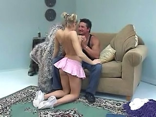 Ass Blonde Cheerleader Pigtail Skirt Cheerleader