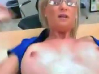 Amazing Glasses  Office Milf Anal Glasses Anal Milf Ass Milf Office Office Milf
