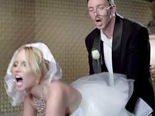 Blonde Bride Doggystyle  Pornstar
