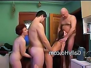Drunk Family Groupsex Kitchen Party Russian Family Kitchen Sex Drunk Party