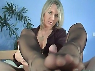 Feet Pantyhose Footjob Foot Pantyhose