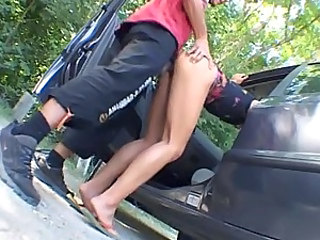 Car Clothed Doggystyle German Hardcore Legs  Outdoor Clothed Fuck Outdoor German Milf German