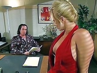 Amazing Blonde  Office Pornstar Vintage Milf Office Boss Office Milf