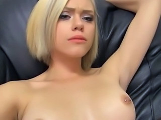 Blonde Casting Cute Piercing Small Tits Cute Blonde