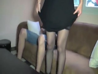 French Stockings Stockings French Anal French