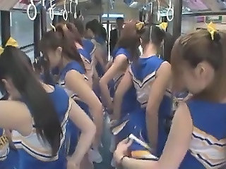 Asian Bus Cheerleader Japanese Teen Uniform Teen Japanese Asian Teen Cheerleader Japanese Teen Teen Asian Bus + Asian Bus + Teen