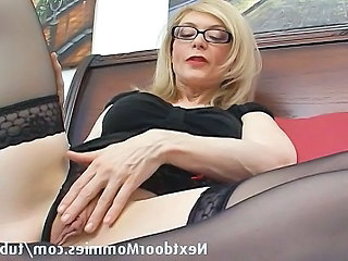 Glasses Stockings Strapon Mature Ass Blonde Mature Stockings Glasses Mature Mature Stockings