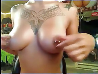 Nipples Piercing Tattoo Filipina Chinese