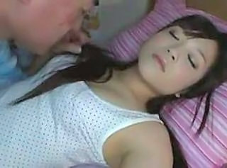 Asian Cute Daughter Sleeping Cute Daughter Cute Asian Daughter