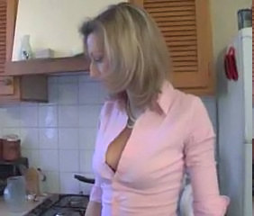 European French Kitchen  French Milf European French Plumber