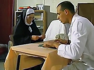 Doctor Glasses Mature Nun Old and Young Uniform Vintage Cute Ass Cute Brunette Son