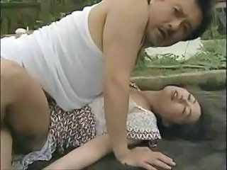 Asian Old and Young Outdoor Violated Old And Young Outdoor