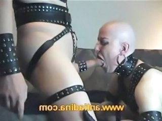 Blowjob Fetish Goth Latex Piercing