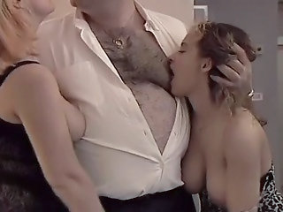 Daddy Daughter Family Mom Old and Young Teen Threesome Daddy Old And Young