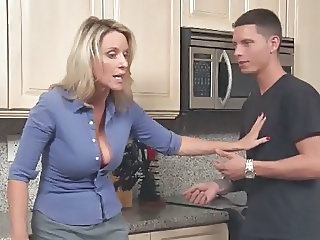 European Kitchen Mature Son Kitchen Mature Kitchen Sex European
