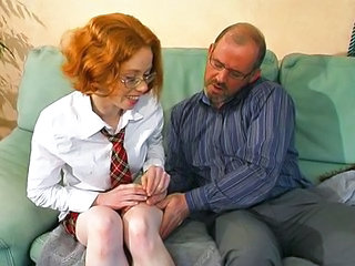 European French Glasses Old and Young Teen Young Teen Ass Old And Young French Teen Glasses Teen European French Teen Redhead