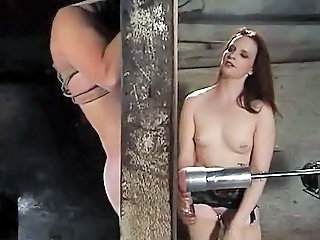 Bdsm Handjob Machine Jerk