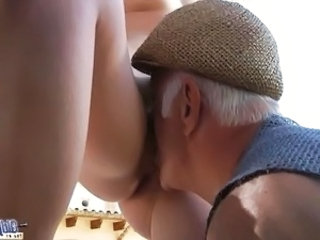 Daddy Licking Old and Young Daddy Old And Young