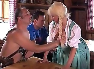 Double Penetration Fantasy Threesome German Busty German Threesome Busty