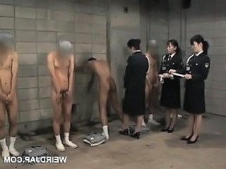 Asian Prison Uniform Dirty Police