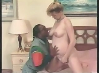 European Interracial Pregnant Vintage European