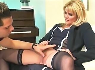 Mature Mom Old and Young Pussy Stockings