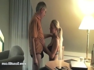 Daddy Daughter Old and Young Teen German Amateur