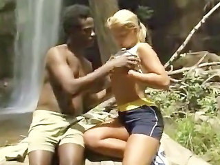 Amateur Interracial Outdoor