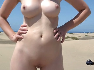 Beach Nudist Outdoor Shaved