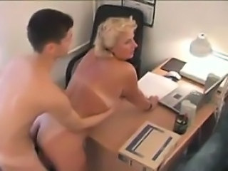 Amateur Blonde Mature Mom Old and Young Russian Teacher Boss