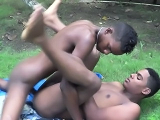 Gay Outdoor Twink Bareback African