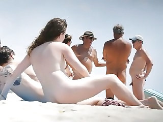 Amateur Beach Nudist Outdoor Public