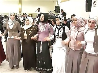 Amateur Arab Dancing Party