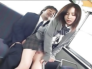 Asian Bus Japanese Skirt Student Teen Uniform