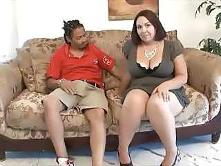 Big Tits Chubby Interracial