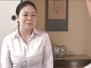 Asian Glasses  Teacher Married