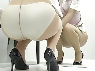 Asian Ass Japanese Panty Pantyhose Pantyhose Upskirt