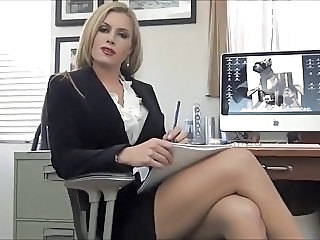 Babe Blonde Cute Doctor
