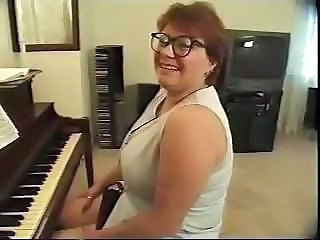 Glasses Mature Redhead Teacher Huge