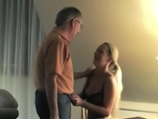 Amateur Blonde Daddy Daughter European German Old and Young German Amateur