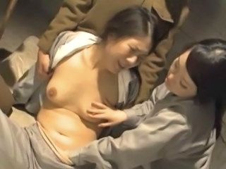 Asian Mature Prison Threesome Uniform